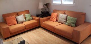 Conjunto sofas 3 y 2 plazas