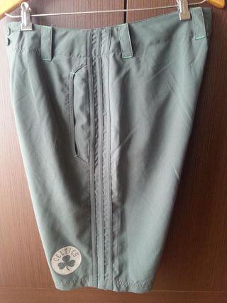 Pantalón corto de vestir Adidas-NBA-Celtics