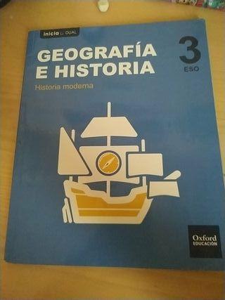 Libros Geografía e Historia 3 ESO
