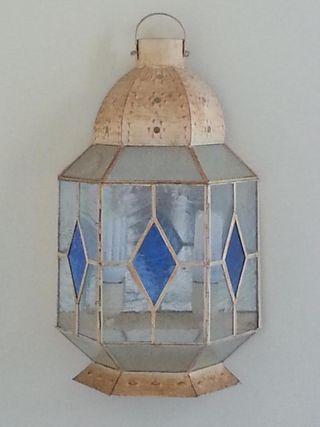 Aplique decorativo de tipo farol con bombillas B.C
