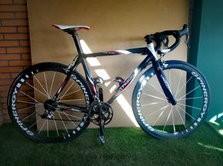 Bicicleta de carretera de carbono talla M/L