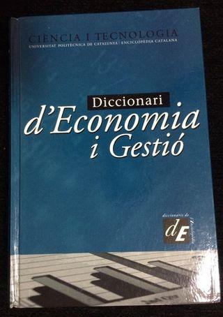 Diccionari Economia i Gestió