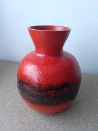 Jarrón vintage florero Antiguo ceramica