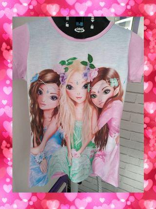 Camiseta Top Model. T: 11 -12