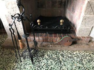 Elementos decorativos chimenea