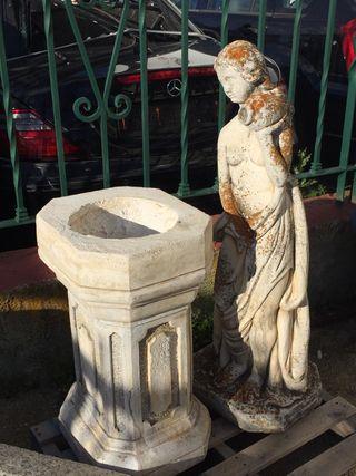 Figura de piedra