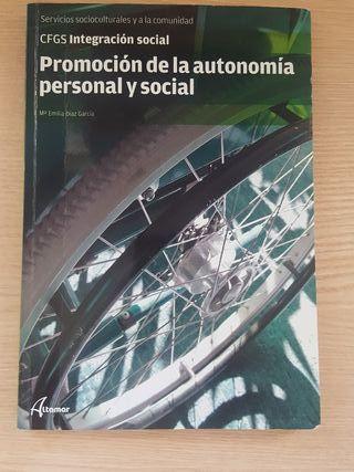 Libro promoción de la autonomía personal y social