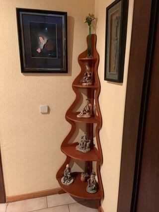 Rinconera de madera