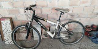 bicicleta monty 21 cambios, aluminio
