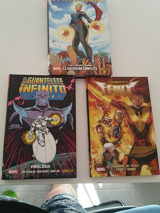 Vendo 3 Comics Marvel Nuevos