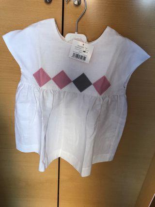 Blusa lino Gocco T 7-8