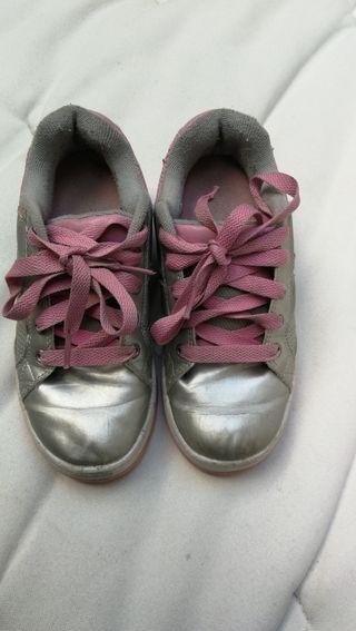 heelys talla 33 zapatillas bambas con ruedas