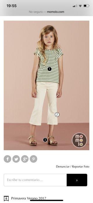 Pantalón Nanos nuevo con etiquetas T10 niña