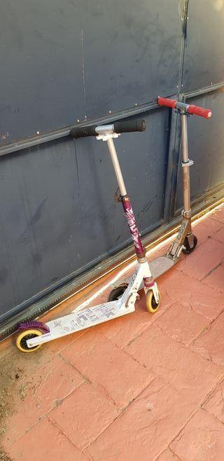 Dos patinetes para niño de Decathlon