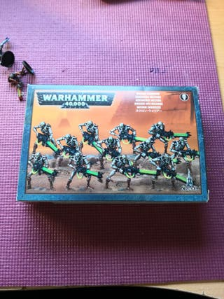 guerreros necron Warhammer