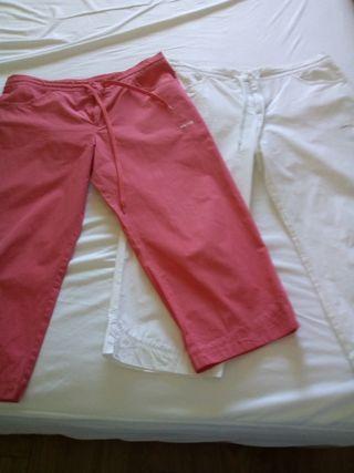 Pantalones Sport pirata, Talla L.
