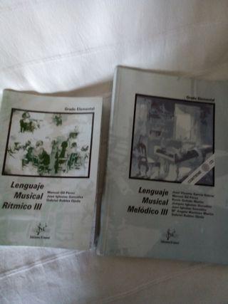 Lenguaje M. Rítmico y Melódico III. Editorial Sibe