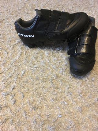 Zapatillas de Spinning BTwin talla 38