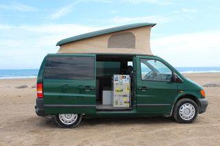 Camper furgo Mercedes-Benz Vito