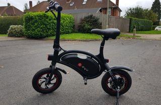 DYU d1 Bicicleta eléctrica sin pedales