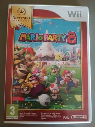 Mario Party 8 NS (Wii)
