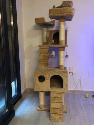Rascador para gatos semi nuevo