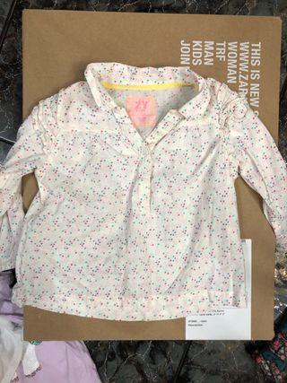 Blusa niña camiseta