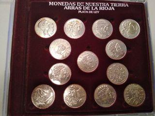 a03216024cb6 50 €. Arras Riojanas. Lote de 13 monedas en plata.