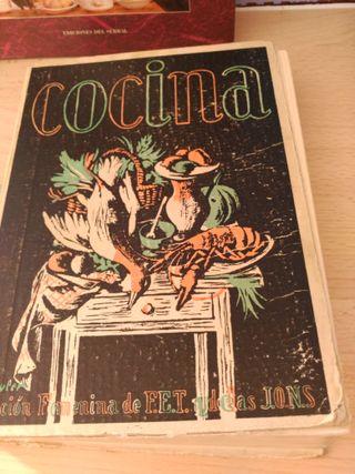 Libro Cocina sección femenina