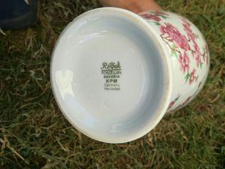 precioso jarrón bavaria porcelana