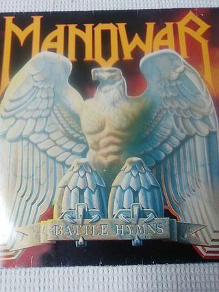 vinilo MANOWAR Battle Hymns discos heavy