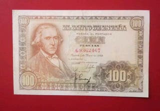 Billete 100 pesetas 1948