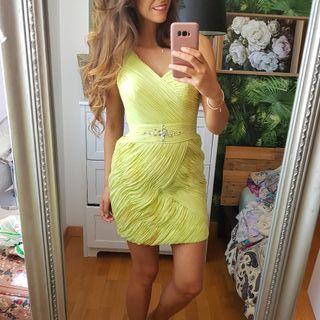 Espectacular vestido Lima Penhalta