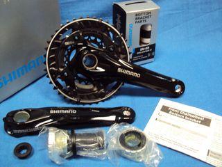 Nuevas bielas SHIMANO Deore FC-M622 22/30/40 175mm