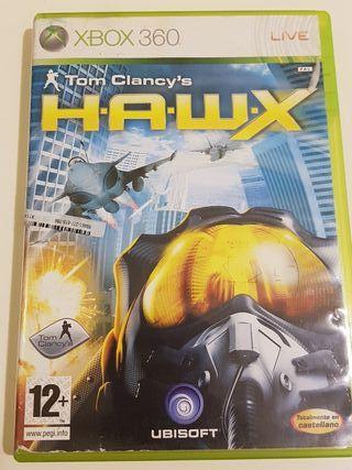 HAWX TOM CLANCY,S XBOX 360