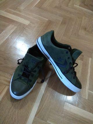 zapatillas converse verdes 42,5