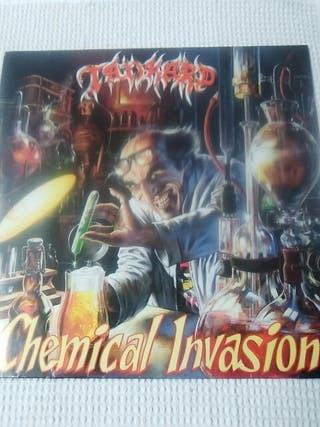vinilo TANKARD Chemical Invasion thrash metal