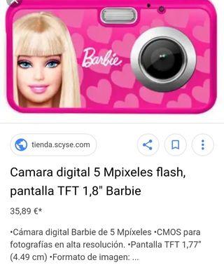 Cámara digital Barbie