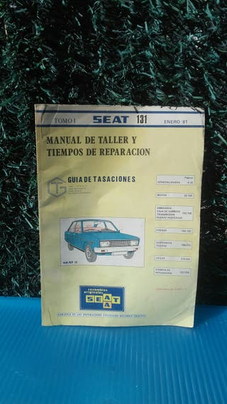 Manual de taller y tiempos de reparación SEAT 131