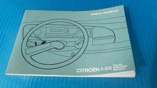 Manual de empleo Citroen GS