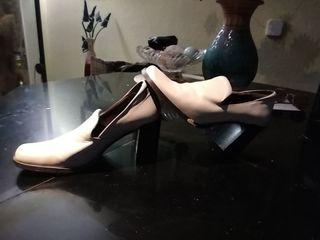 zapatos de piel vintage