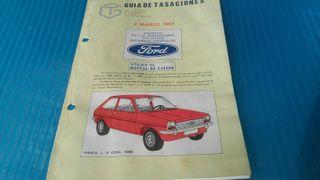 Guía de tasaciones Ford Fiesta