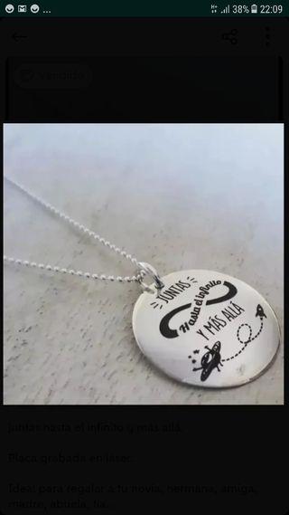52fd558fc50a Collar de plata corazón de segunda mano en la provincia de Barcelona ...