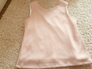 Camiseta rosa brillante niña Eve Children