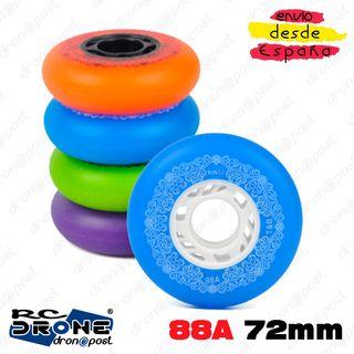 4 Ruedas 88A 72mm Patines en línea FSK Freestyle S