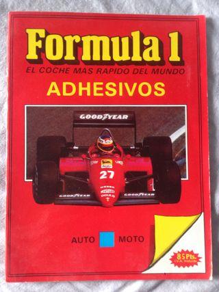 Album cromos Formula 1