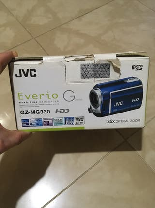 Cámara vídeo jvc disco duro 30 gb
