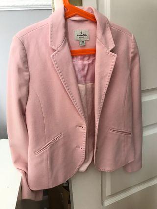 Chaqueta blazer rosa