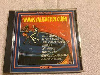 LO MÁS CALIENTE DE CUBA CD