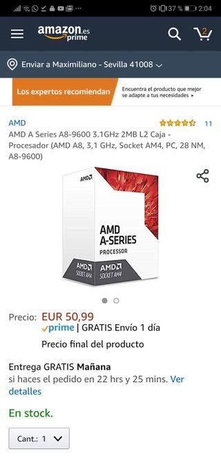 procesador a8 9600